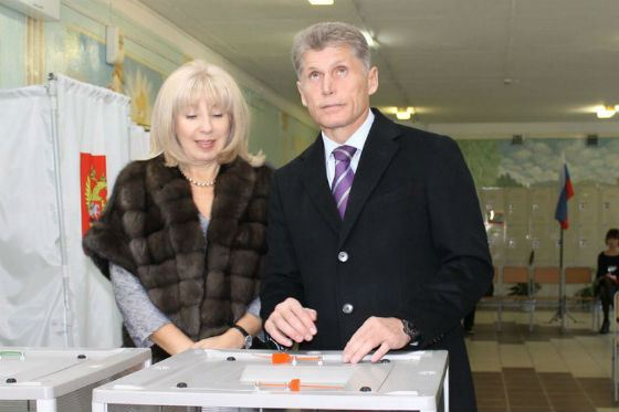 В 2012 Олег Кожемяко стал губернатором Амурской области