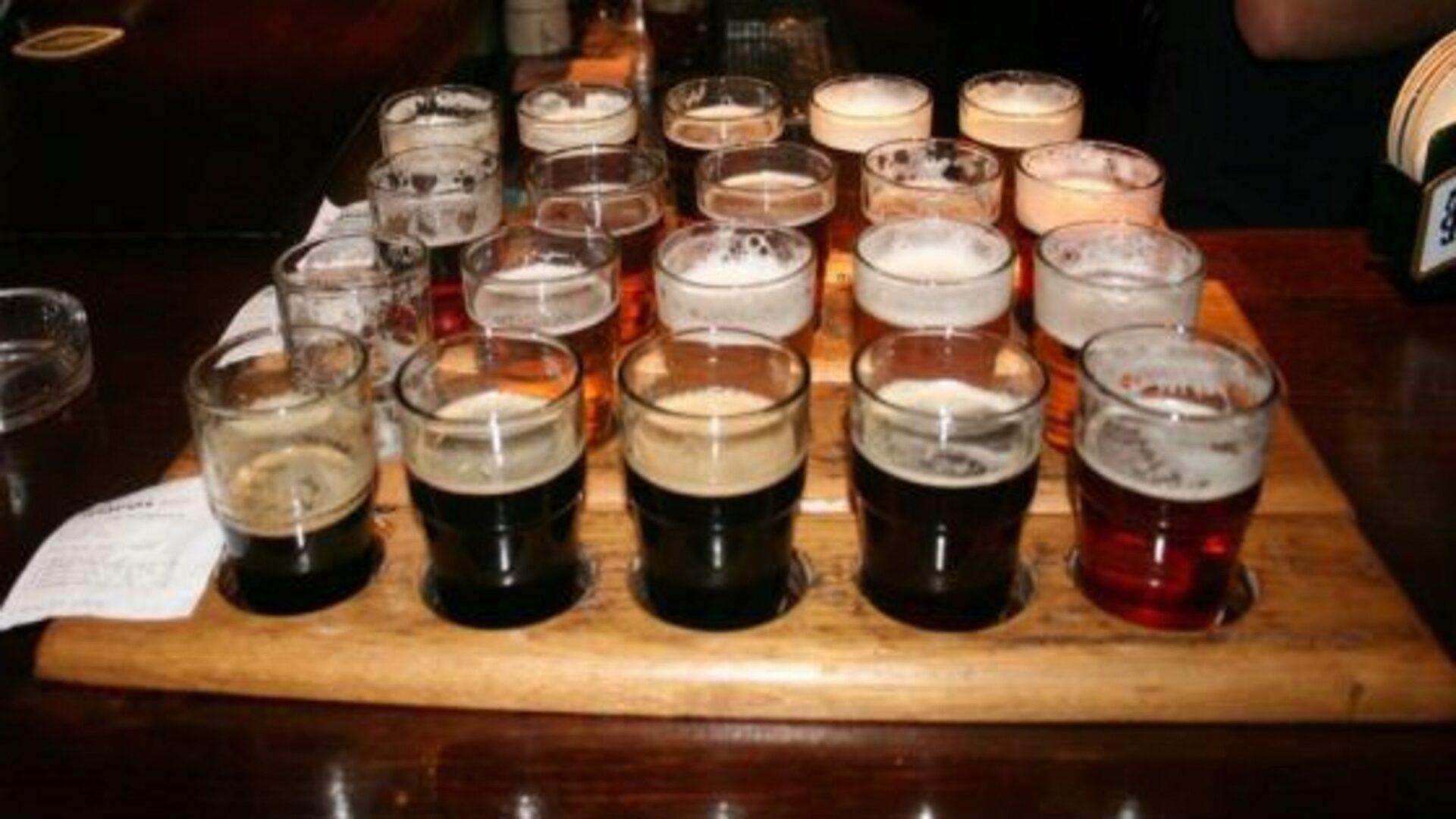 Дегустировать пиво нужно не спеша