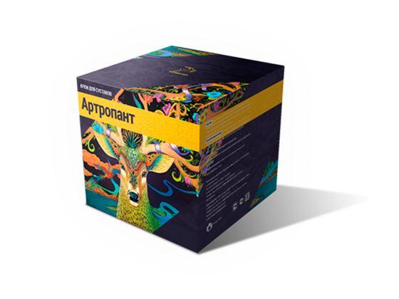 Артропант – крем идентичен натуральному экстракту пантов маралов
