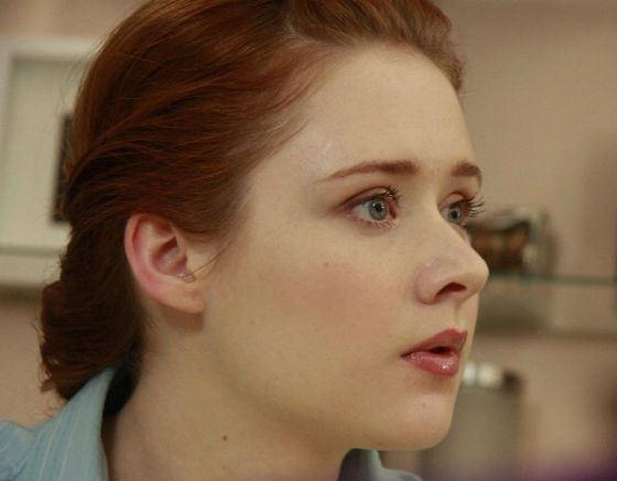 """Tatiana Rybinets as Shurachka (""""Love and other nonsense"""")"""