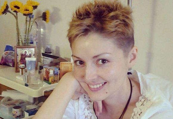 Юлия Латышева борется с раком в московском онкоцентре