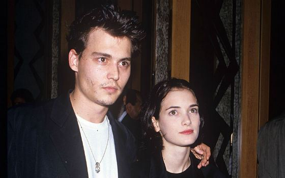 Winona Ryder and Johnny Depp met from 1989 to 1993