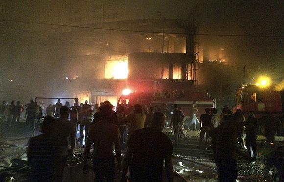 Два взрыва в столице Ирака унесли жизни 131 человека