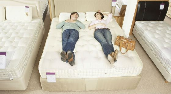 You need to choose a mattress carefully.