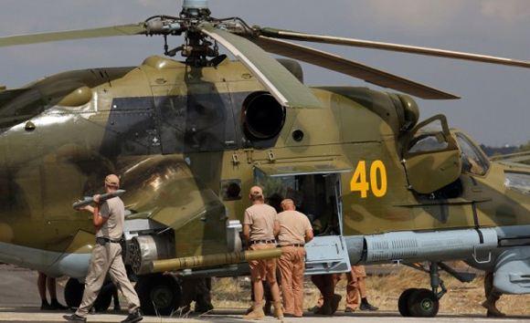 В Сирии погибли двое российских летчиков, управлявших сирийским Ми-25