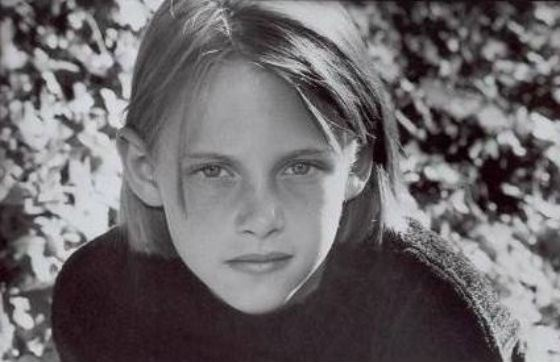 Kristen Stewart's photo as a child