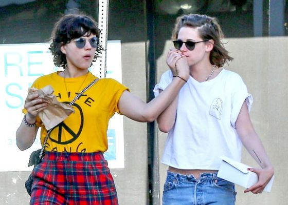 Kristen Stewart and her ex-girlfriend Soko