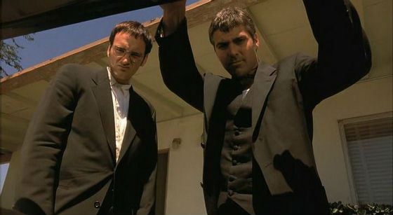Сет и Ричард продемонстрировали яркую  борьбу  с вампирами