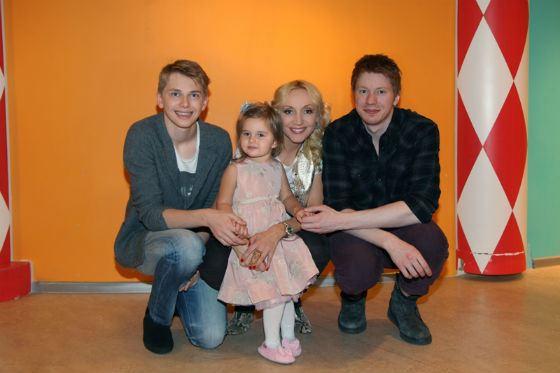 У Кристины Обракайте два прекрасных сына и очаровательная дочь