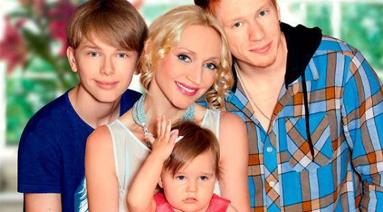 Не так мало российских звезд, у которых действительно большие семьи