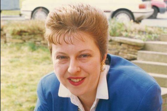 Тереза Мэй на заре политической карьеры (1992 год)