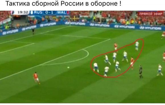 Интернет-творчество на тему игры российской сборной по футболу