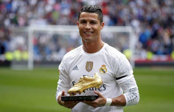 Криштиану Роналду - самый высокооплачиваемый футболист