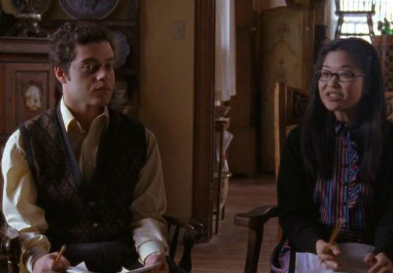 Rami Malek's first role - Andy in