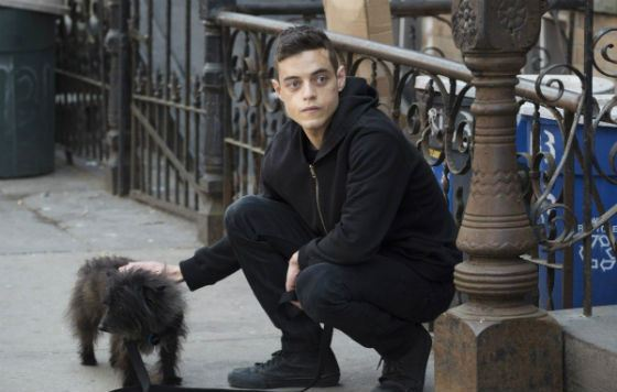Rami Malek starred in the series