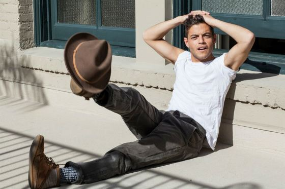 Rami Malek is a promising Hollywood actor