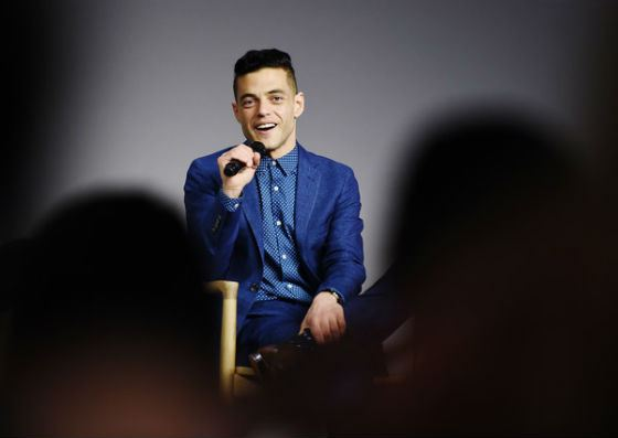 In 2016 Rami Malek attended the Apple event