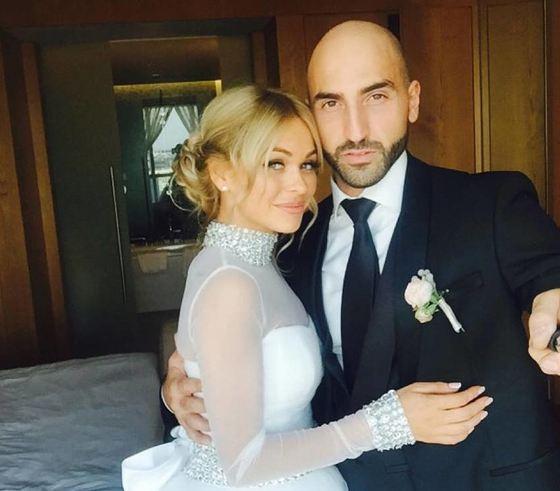 Анна Хилькевич с мужем
