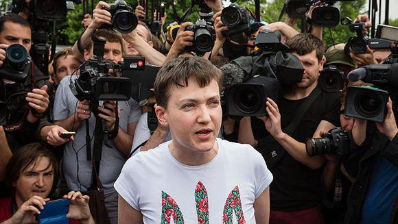 Надежда Савченко: украинцам придется просить прощения у жителей Донбасса