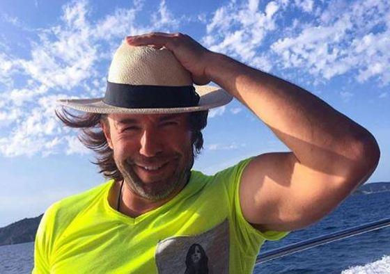 Андрей Малахов на Средиземном море