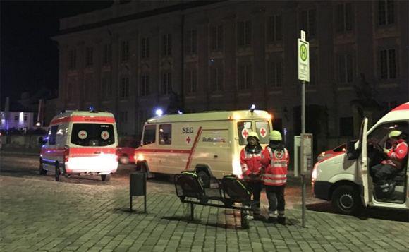 В немецком Ансбах прогремел взрыв рядом с рестораном