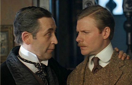 Василий Ливанов в роли Шерлока Холмса понравился даже Английской королеве
