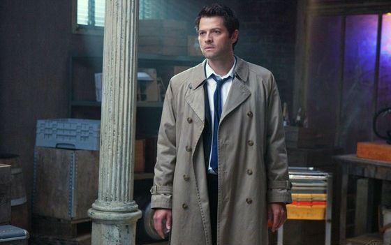 Misha Collins in Castiel's Cloak