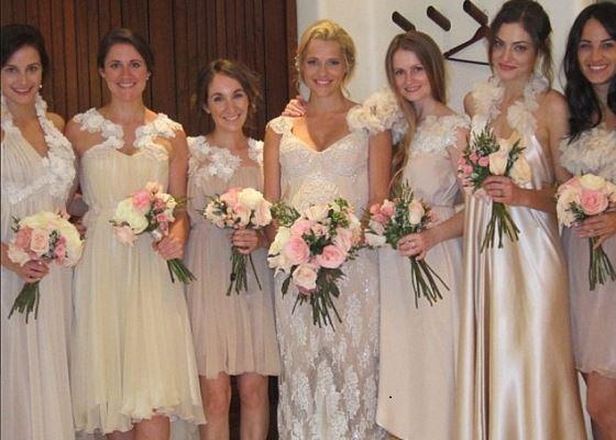 Pregnant Theresa Palmer's Wedding