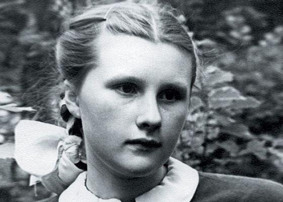 Людмила Иванова в молодости