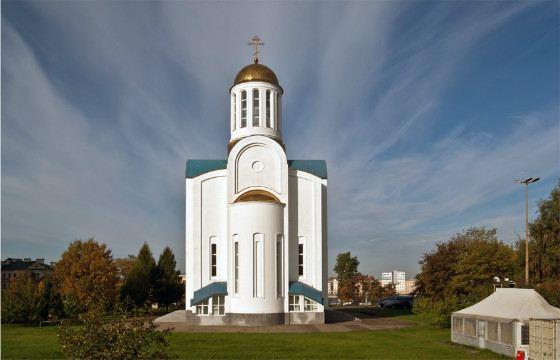 Блокадный храм восстановили в конце 20 века
