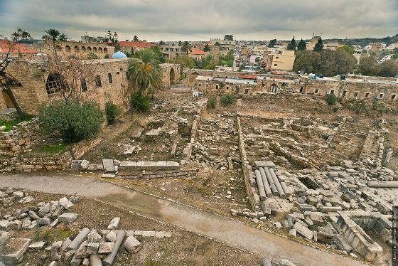 Руины древнего Библа