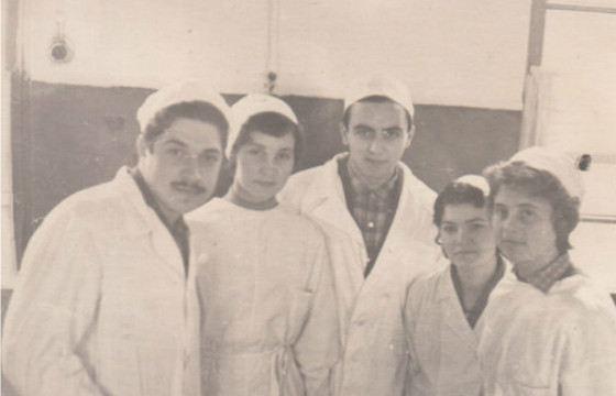 Юлий Гусман - студент медицинского института