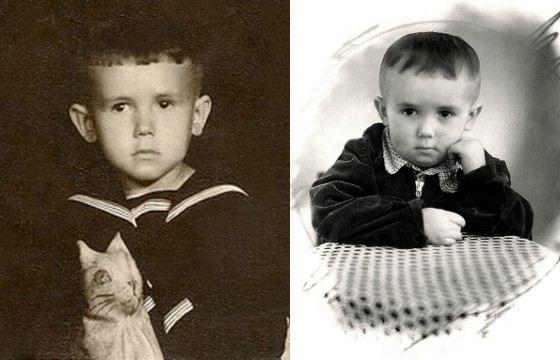Stanislav Sadalsky in childhood