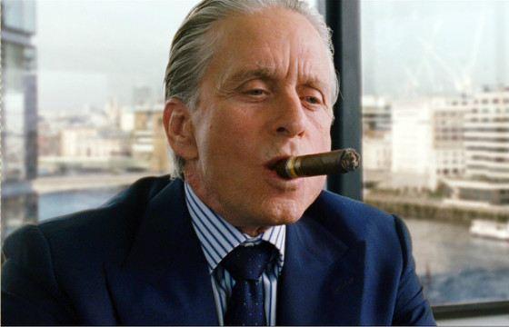 Гордон Гекко - один из вымышленных богачей