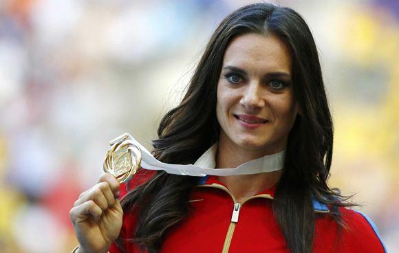 Elena Isinbayeva wants to get into the IOC commission