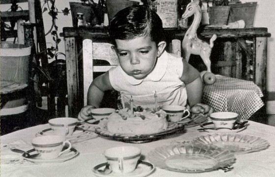 Антонио Бандерас в детстве