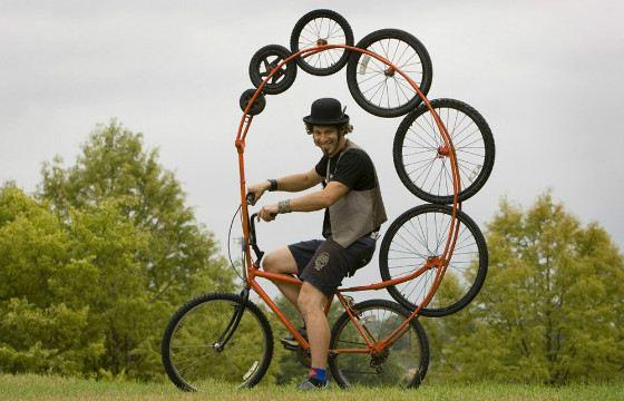 Люди не бросают попыток сделать велосипед лучше