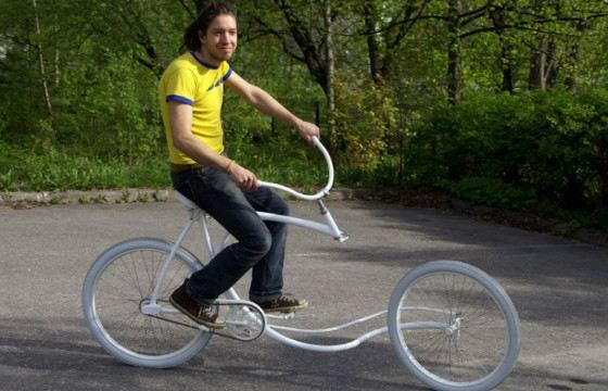 Этот велосипед не кажется очень надежным