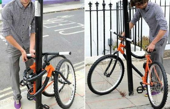 Гибкий велосипед Bendy Bicycle
