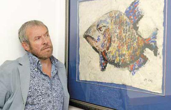 Картины Макаревича выставлялись в частной галерее