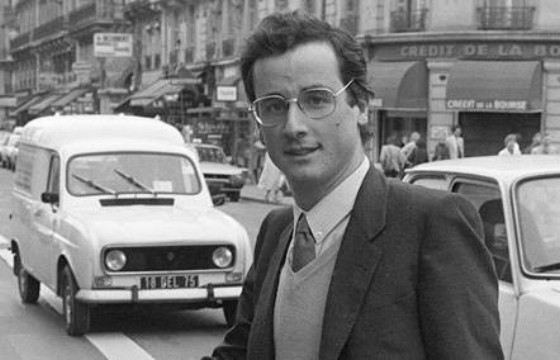 Francois Hollande in his youth