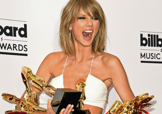 Thousands of Taylor Swift's awards