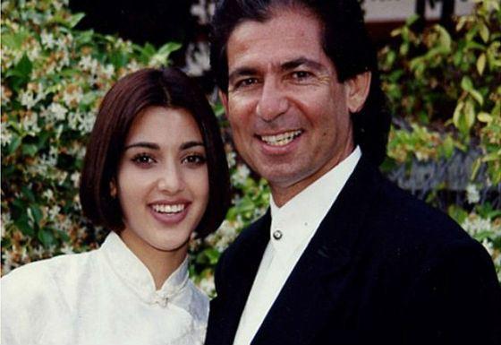 Родители Ким Кардашян в молодости
