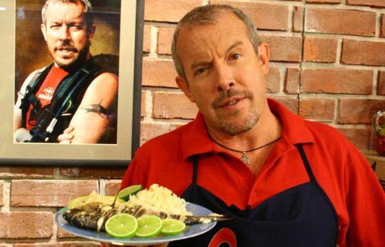 Макаревич вел авторскую кулинарную программу «Смак»