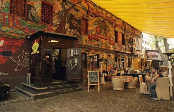Летняя веранда Rhythm&Blues Cafe