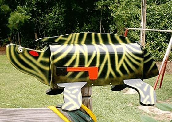 Почтовый ящик «Красноухая черепаха»