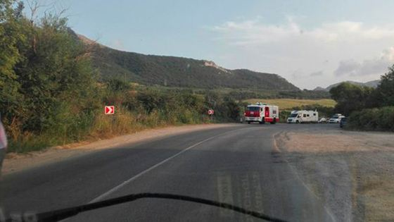 ДТП произошло в районе Шебетовки