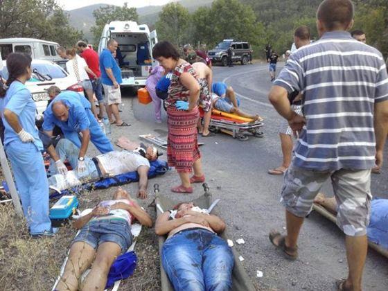 В результате ДТП  под Феодосией погибло 7 человек