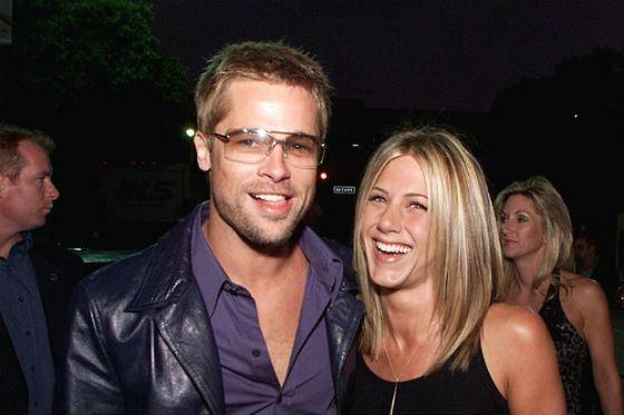 Бред Питт и Дженнифер Энистон расстались в 2005 году