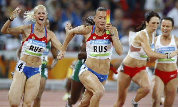 МОК лишил Россию «золота» Олимпиады-2008 в Пекине в эстафете 4х100